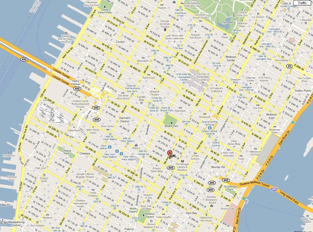 NYjpg - Nyc map soho